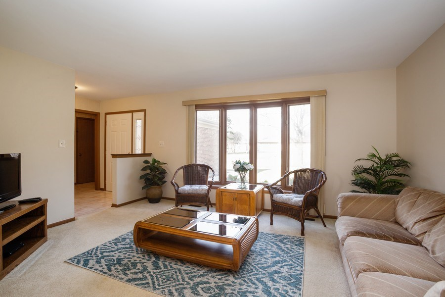 Real Estate Photography - 31 N. Lombard Road, Addison, IL, 60101 - Living Room