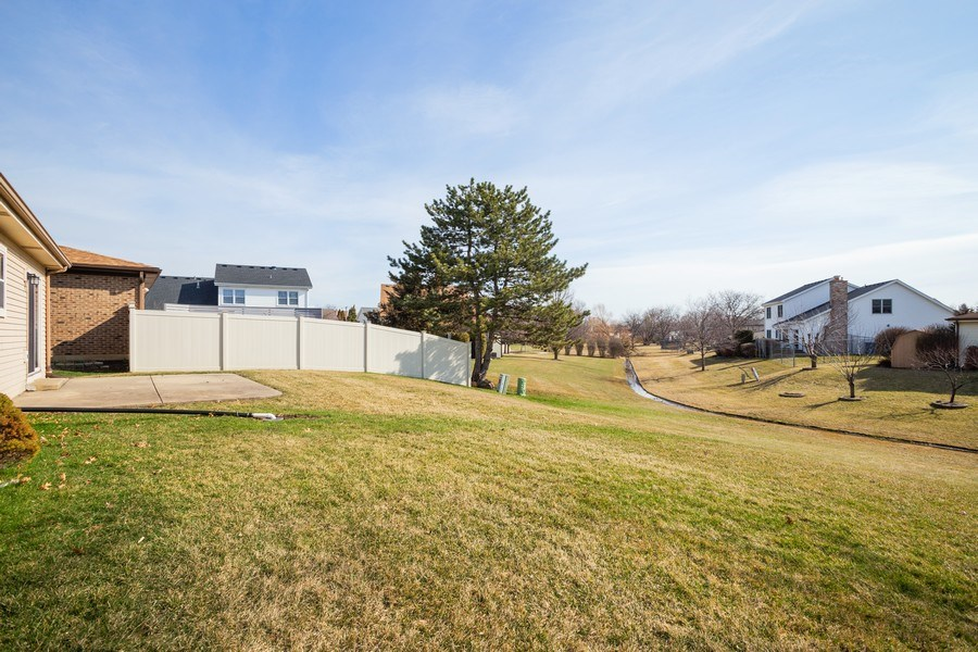 Real Estate Photography - 31 N. Lombard Road, Addison, IL, 60101 - Back Yard