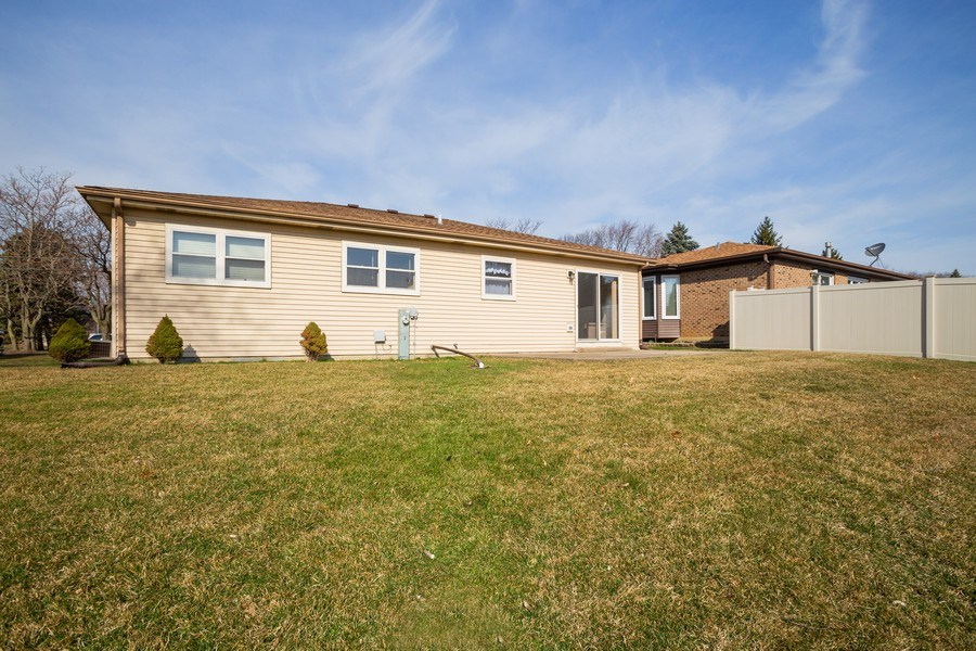 Real Estate Photography - 31 N. Lombard Road, Addison, IL, 60101 - Rear View