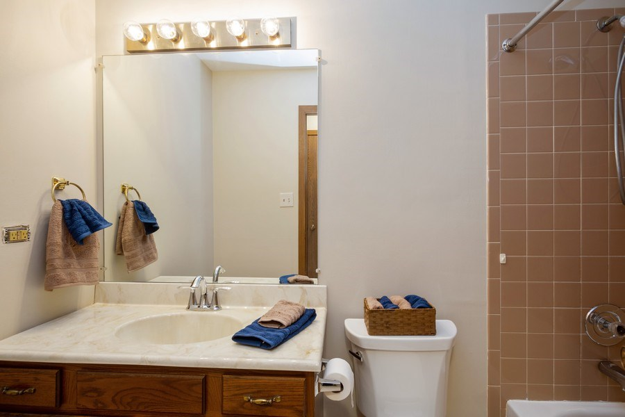 Real Estate Photography - 31 N. Lombard Road, Addison, IL, 60101 - Bathroom