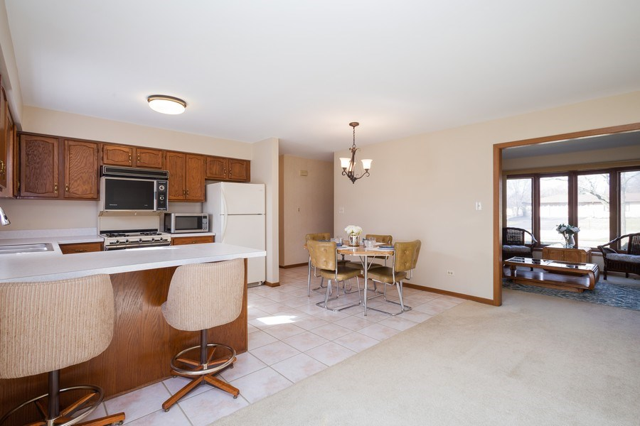 Real Estate Photography - 31 N. Lombard Road, Addison, IL, 60101 - Kitchen / Dining Room