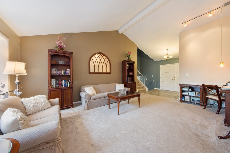 Real Estate Photography - 1911 E. Peachtree Lane, Arlington Heights, IL, 60004 - Living Room