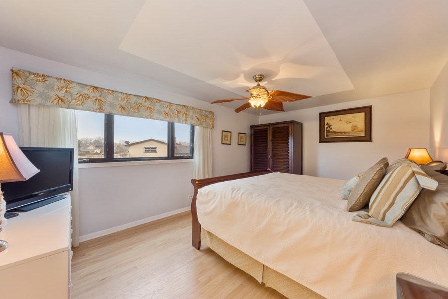 Real Estate Photography - 1911 E. Peachtree Lane, Arlington Heights, IL, 60004 - Master Bedroom