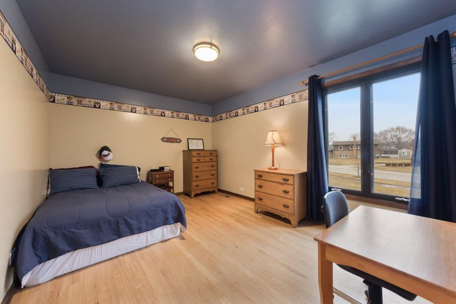 Real Estate Photography - 1911 E. Peachtree Lane, Arlington Heights, IL, 60004 - 2nd Bedroom