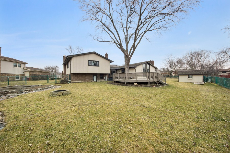 Real Estate Photography - 1911 E. Peachtree Lane, Arlington Heights, IL, 60004 - Rear View