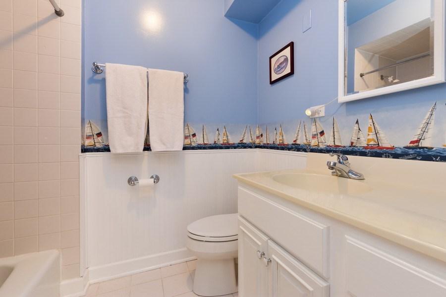Real Estate Photography - 1911 E. Peachtree Lane, Arlington Heights, IL, 60004 - 2nd Bathroom