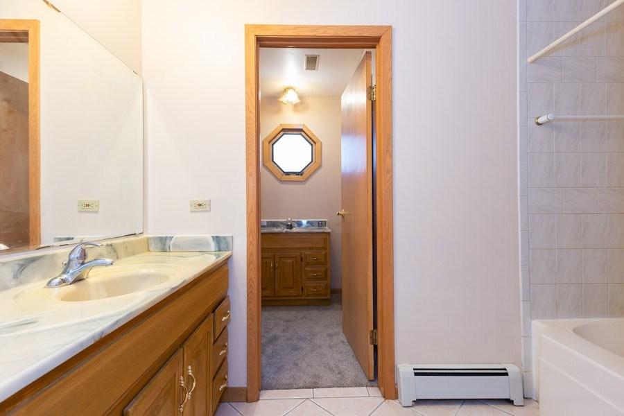 Real Estate Photography - 8609 PARKSIDE Avenue, Burbank, IL, 60459 - Bathroom