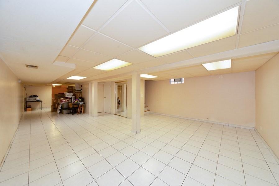 Real Estate Photography - 5037 HAROLD Avenue, Schiller Park, IL, 60176 - Basement