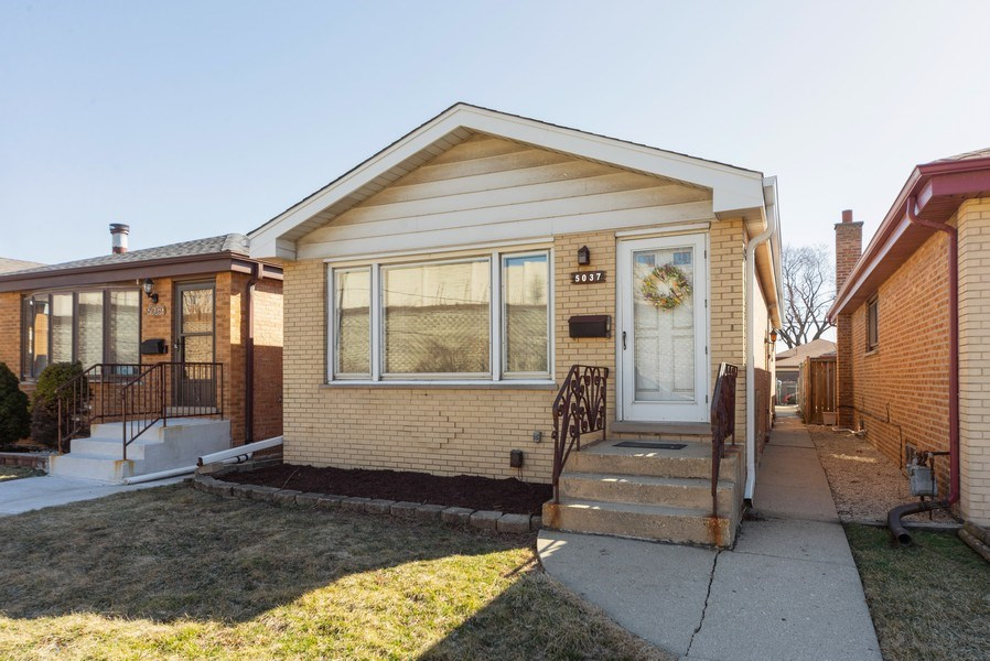 Real Estate Photography - 5037 HAROLD Avenue, Schiller Park, IL, 60176 - Front View