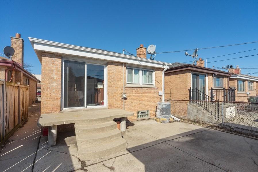 Real Estate Photography - 5037 HAROLD Avenue, Schiller Park, IL, 60176 - Rear View