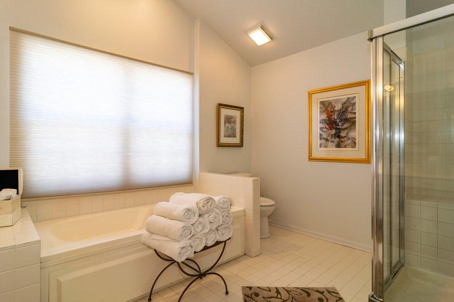 Real Estate Photography - 318 Torrington Drive, Bloomingdale, IL, 60108 - Master Bathroom