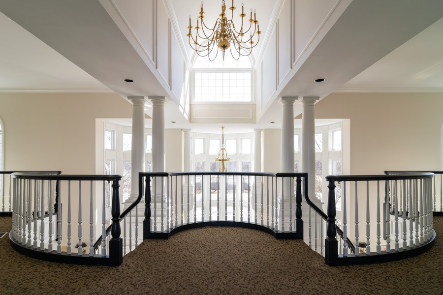 Real Estate Photography - 318 Torrington Drive, Bloomingdale, IL, 60108 - BLOOM FIELD CLUBHOUSE FOYER