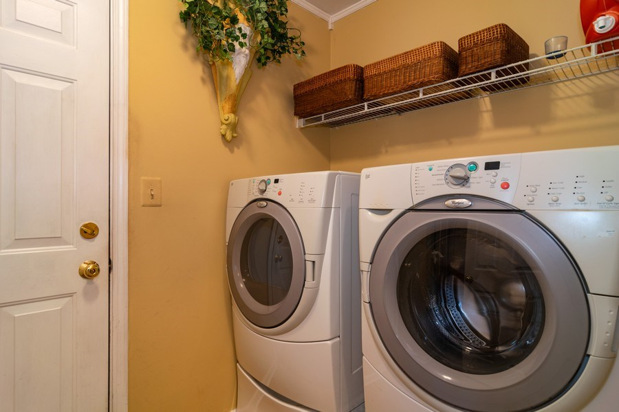 Real Estate Photography - 318 Torrington Drive, Bloomingdale, IL, 60108 - Laundry Room