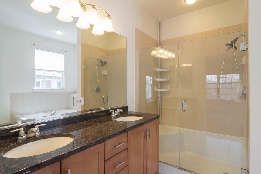 Real Estate Photography - 1886 Potomac Court, Wheeling, IL, 60090 - Master Bathroom