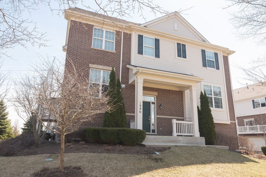 Real Estate Photography - 1886 Potomac Court, Wheeling, IL, 60090 - Front View