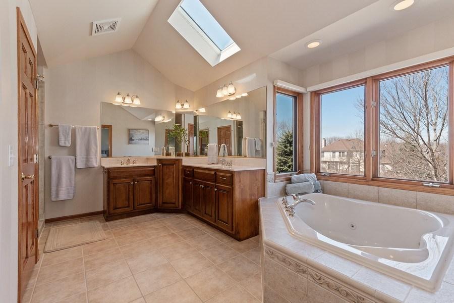 Real Estate Photography - 785 Wind Energy Pass, Batavia, IL, 60510 - Master Bathroom