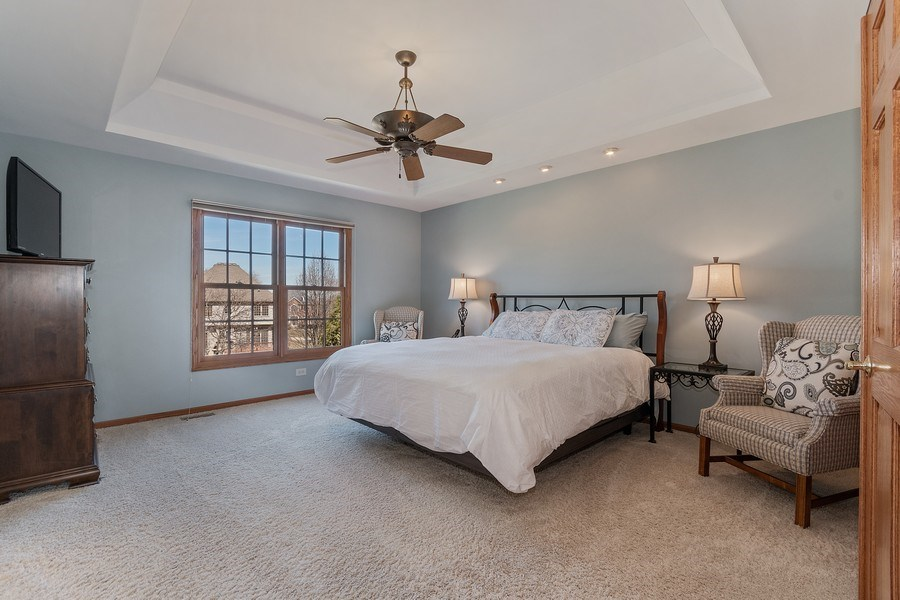 Real Estate Photography - 785 Wind Energy Pass, Batavia, IL, 60510 - Master Bedroom
