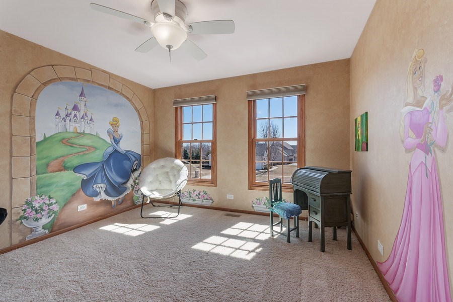 Real Estate Photography - 785 Wind Energy Pass, Batavia, IL, 60510 - 2nd Bedroom