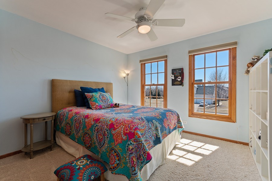 Real Estate Photography - 785 Wind Energy Pass, Batavia, IL, 60510 - 4th Bedroom