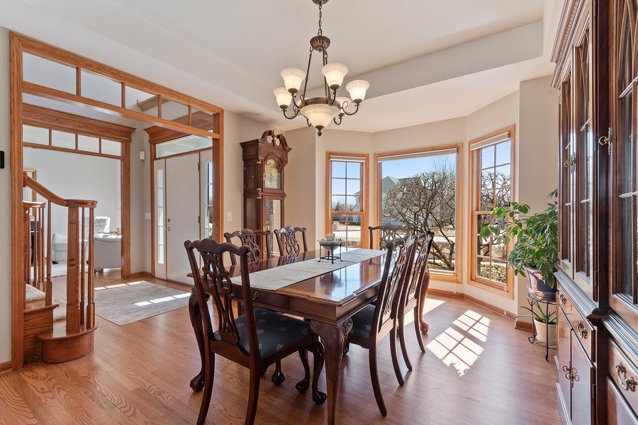 Real Estate Photography - 785 Wind Energy Pass, Batavia, IL, 60510 - Dining Room