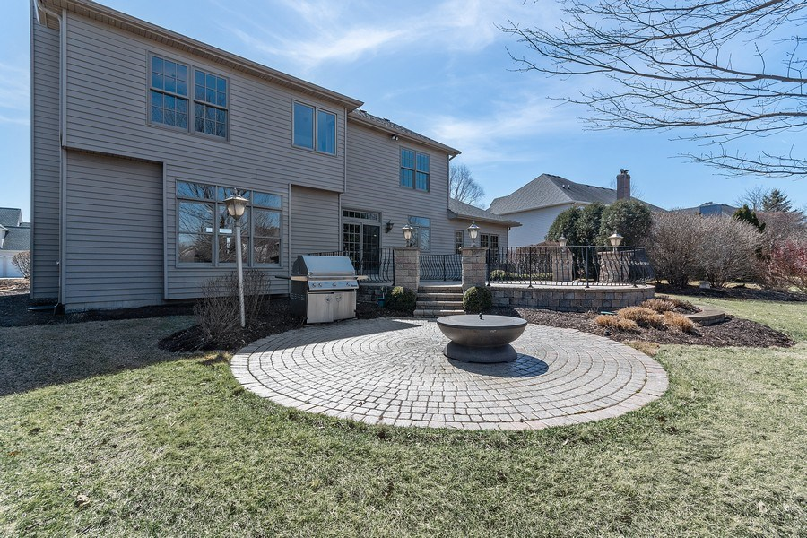 Real Estate Photography - 785 Wind Energy Pass, Batavia, IL, 60510 - Back Yard