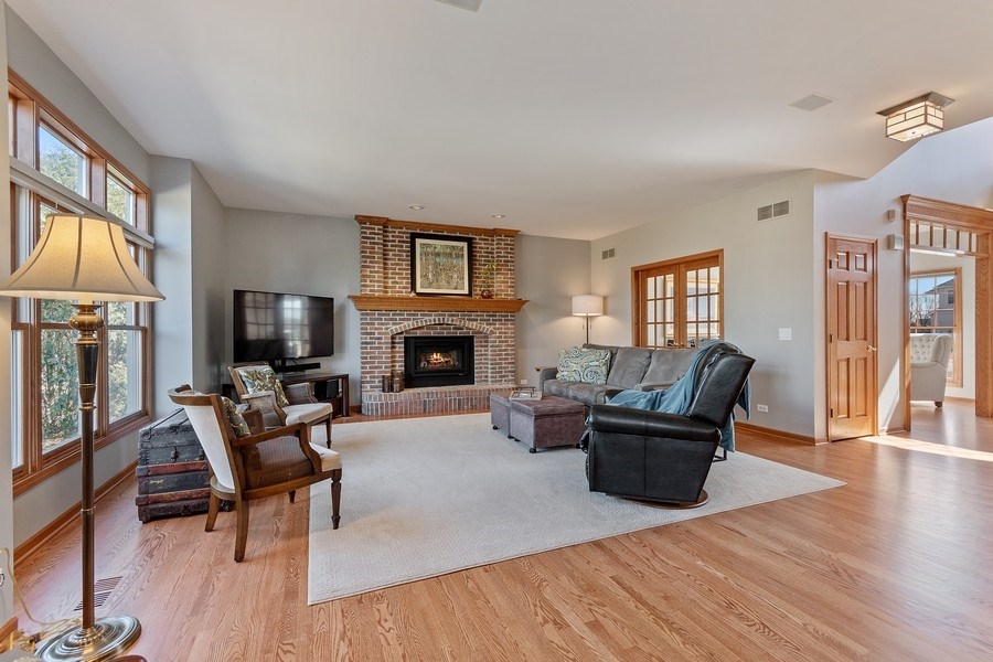 Real Estate Photography - 785 Wind Energy Pass, Batavia, IL, 60510 - Family Room