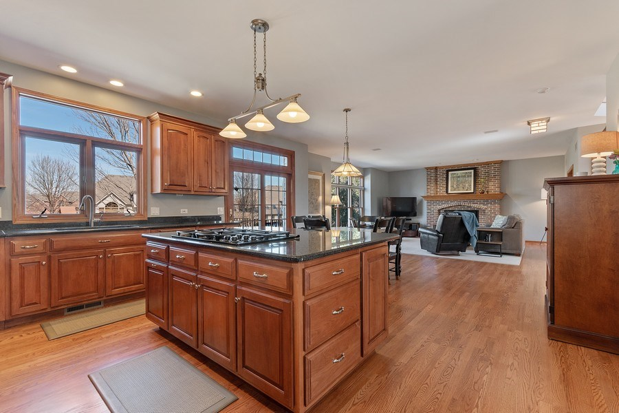 Real Estate Photography - 785 Wind Energy Pass, Batavia, IL, 60510 - Kitchen