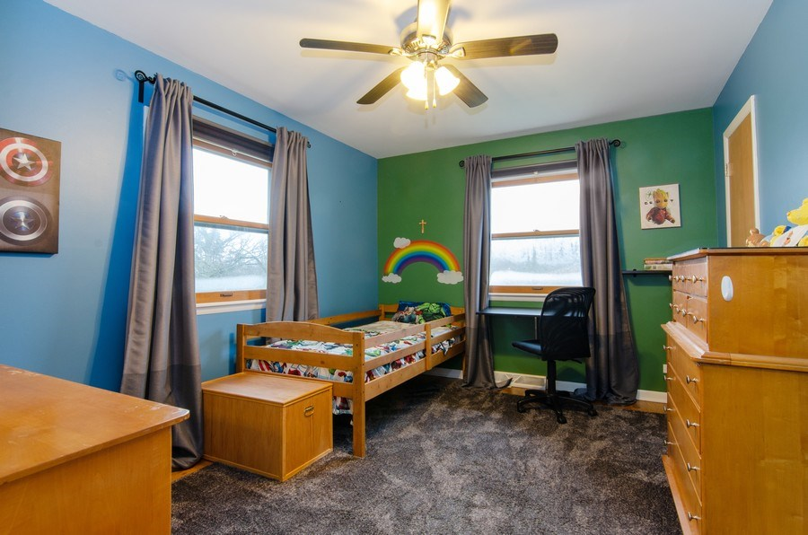 Real Estate Photography - 427 W. North Avenue, Bartlett, IL, 60103 - 2nd Bedroom