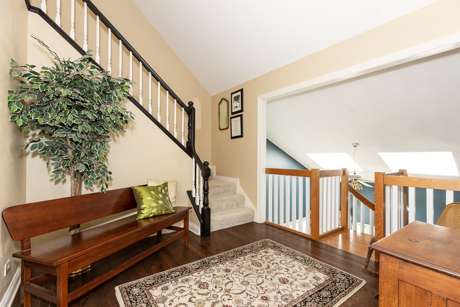 Real Estate Photography - 107 BRIDGEWATER Court, Naperville, IL, 60565 - LOFT AREA TO THIRD FLOOR