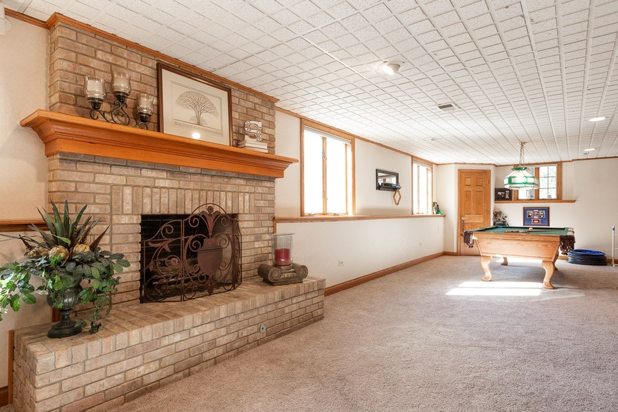 Real Estate Photography - 107 BRIDGEWATER Court, Naperville, IL, 60565 - BASEMENT
