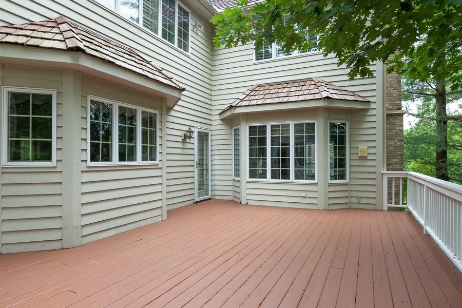 Real Estate Photography - 107 BRIDGEWATER Court, Naperville, IL, 60565 - EXTERIOR REAR DECK