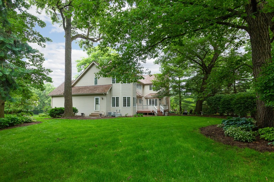Real Estate Photography - 107 BRIDGEWATER Court, Naperville, IL, 60565 - EXTERIOR REAR VIEW