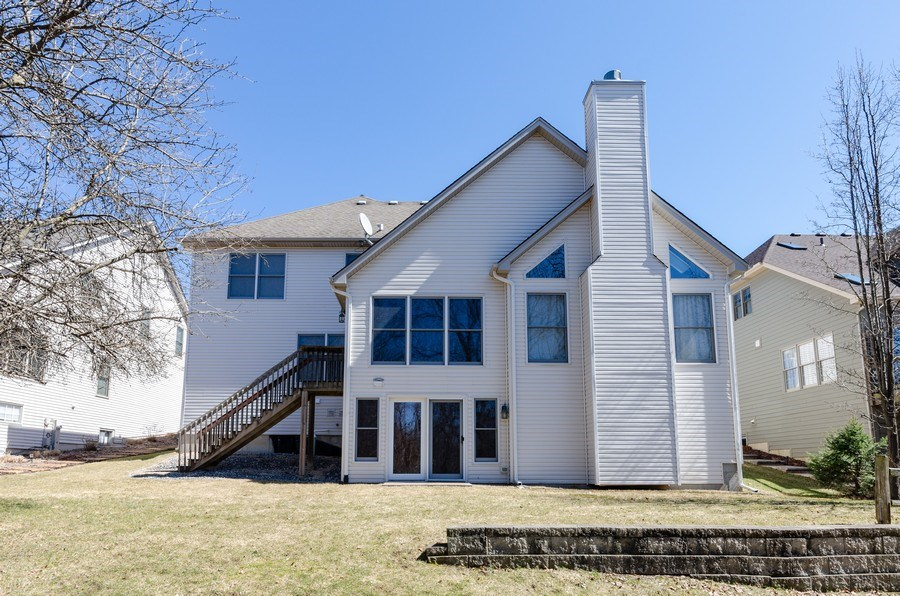 Real Estate Photography - 904 Tipperary Street, Gilberts, IL, 60136 - Rear View