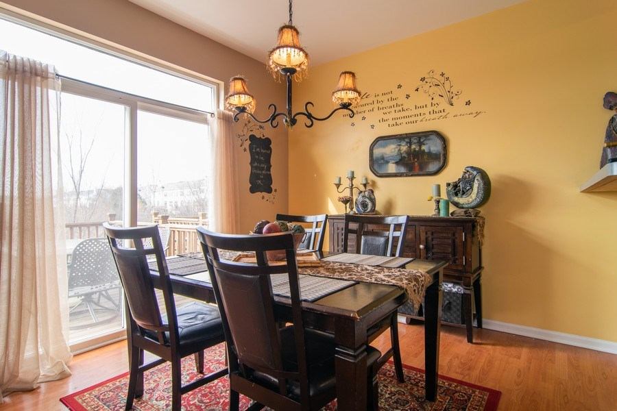 Real Estate Photography - 1097 Horizon Drive, Bartlett, IL, 60103 - Dining Room