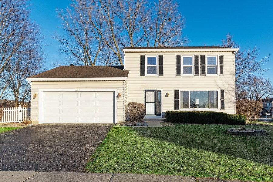 Real Estate Photography - 1104 Foxworth Boulevard, Lombard, IL, 60148 - Front View
