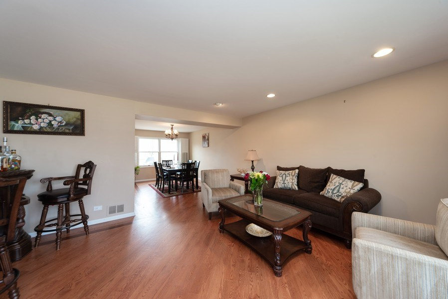 Real Estate Photography - 440 Meyerson Way, Wheeling, IL, 60090 - Living Room