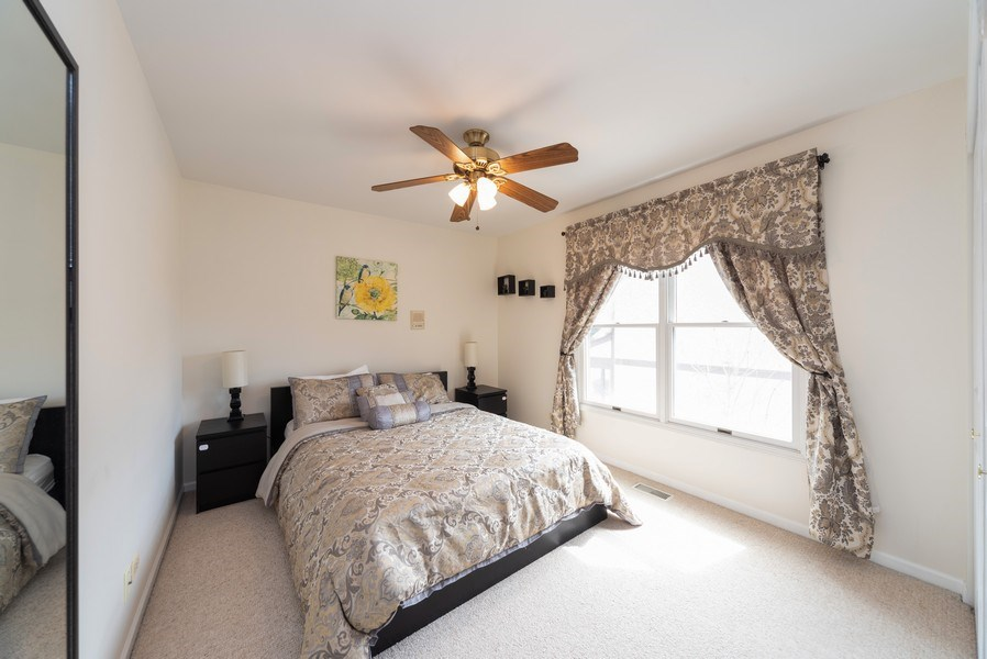 Real Estate Photography - 440 Meyerson Way, Wheeling, IL, 60090 - 2nd Bedroom