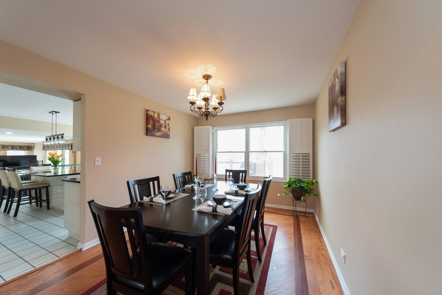 Real Estate Photography - 440 Meyerson Way, Wheeling, IL, 60090 - Dining Room