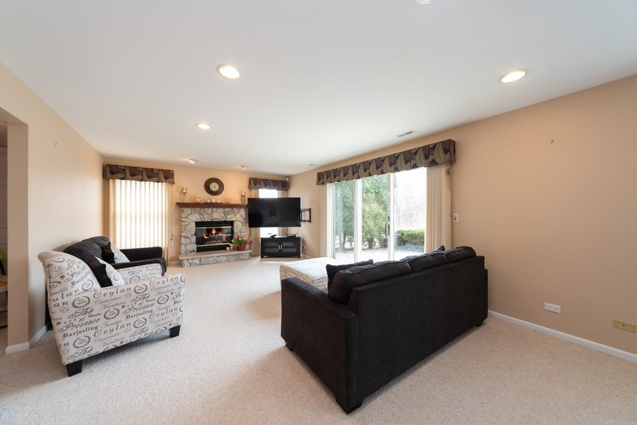 Real Estate Photography - 440 Meyerson Way, Wheeling, IL, 60090 - Family Room