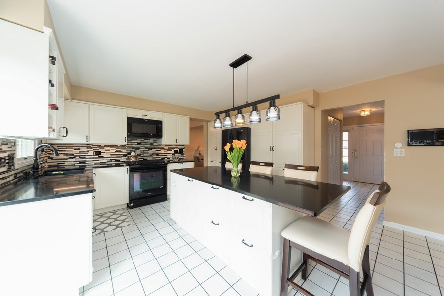 Real Estate Photography - 440 Meyerson Way, Wheeling, IL, 60090 - Kitchen
