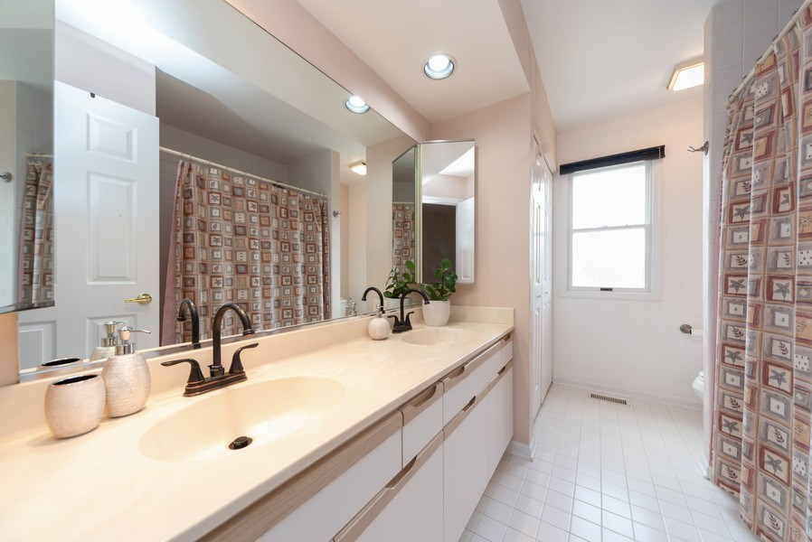 Real Estate Photography - 440 Meyerson Way, Wheeling, IL, 60090 - 2nd Bathroom