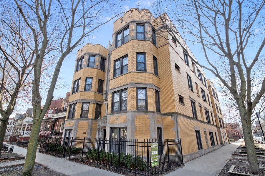 Real Estate Photography - 1307 W. Rosemont Avenue, Unit 3, Chicago, IL, 60660 - Front View