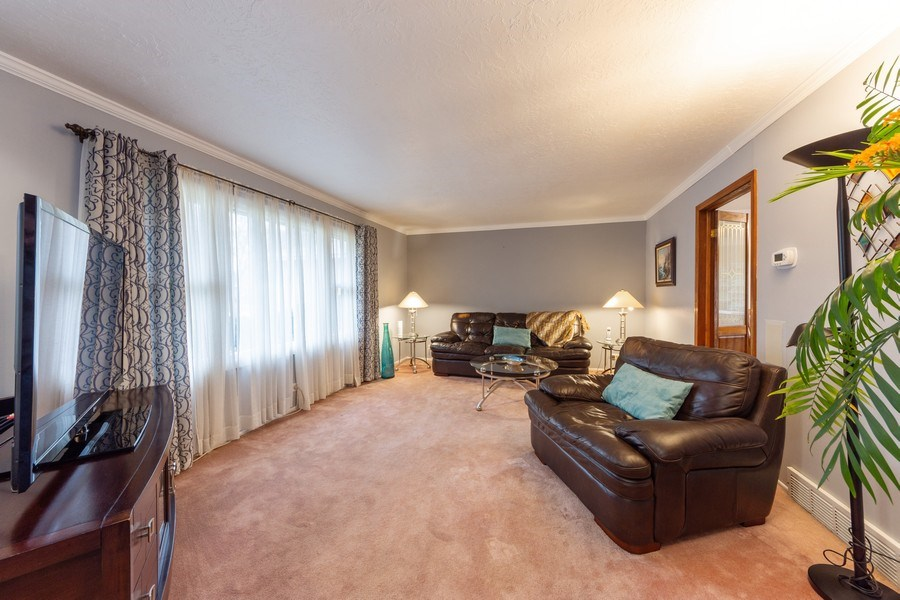 Real Estate Photography - 632 W. St Aubin Drive, Addison, IL, 60101 - Living Room