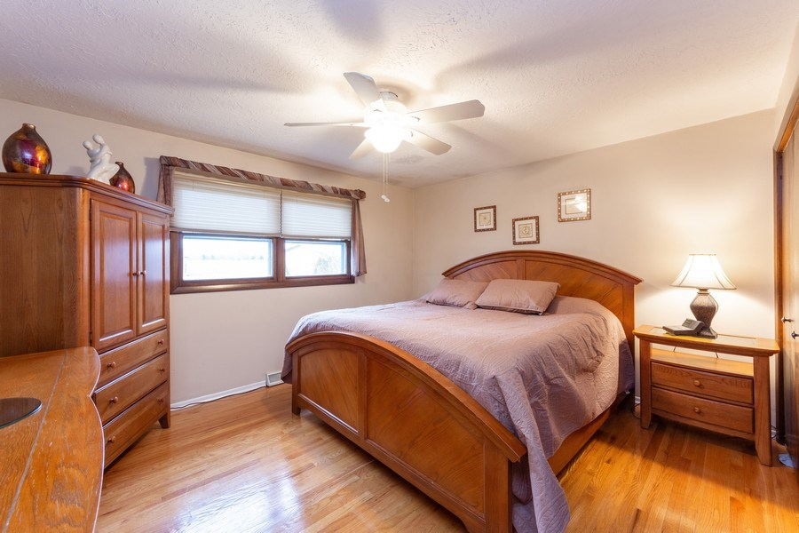 Real Estate Photography - 632 W. St Aubin Drive, Addison, IL, 60101 - Master Bedroom