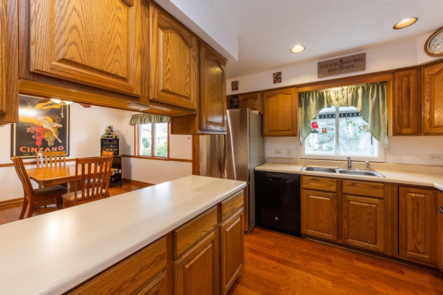 Real Estate Photography - 632 W. St Aubin Drive, Addison, IL, 60101 - Kitchen