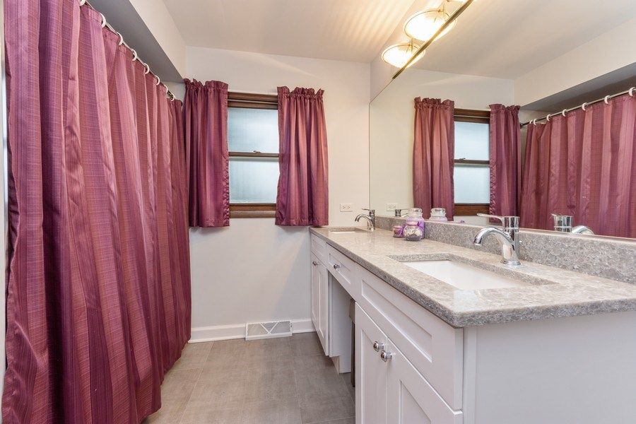 Real Estate Photography - 632 W. St Aubin Drive, Addison, IL, 60101 - 2nd Bathroom