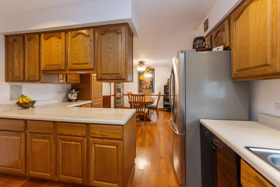Real Estate Photography - 632 W. St Aubin Drive, Addison, IL, 60101 - Kitchen / Dining Room