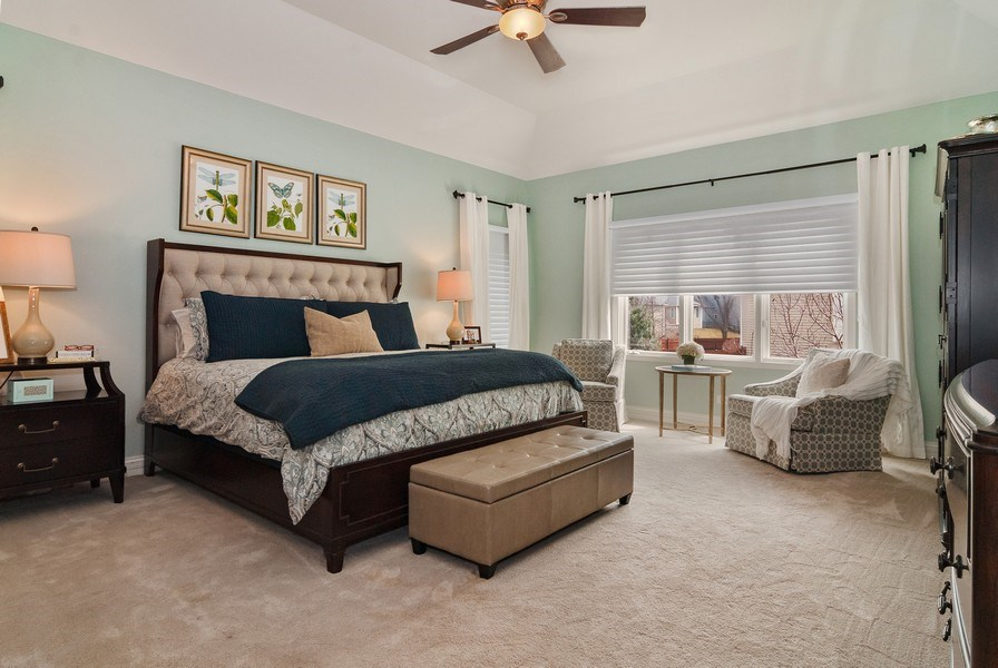 Real Estate Photography - 2019 RACHEL Lane, Aurora, IL, 60502 - Master Bedroom