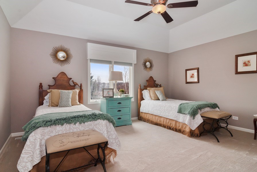 Real Estate Photography - 2019 RACHEL Lane, Aurora, IL, 60502 - 4th Bedroom