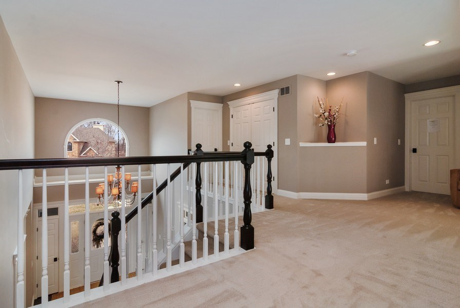 Real Estate Photography - 2019 RACHEL Lane, Aurora, IL, 60502 - 2nd Floor Corridor